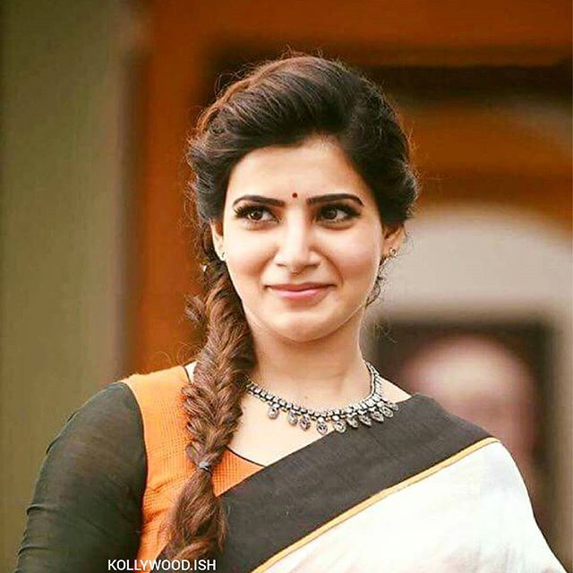 Samantha In Theri Hairstyles Pinterest