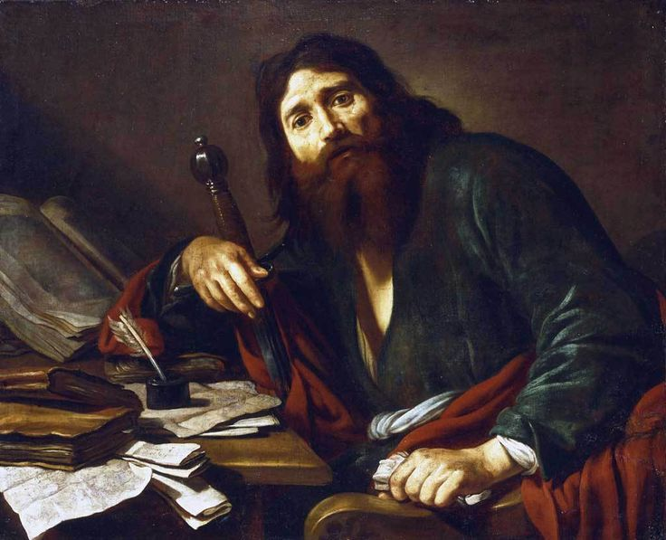 Saint Paul the Apostle / El apóstol San Pablo // 17th century // Claude Vignon