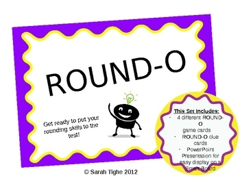 Rounding made easier with my Rounding Bingo!Students will practice their rounding skills with this fun rounding game! This set includes 4 diffe...