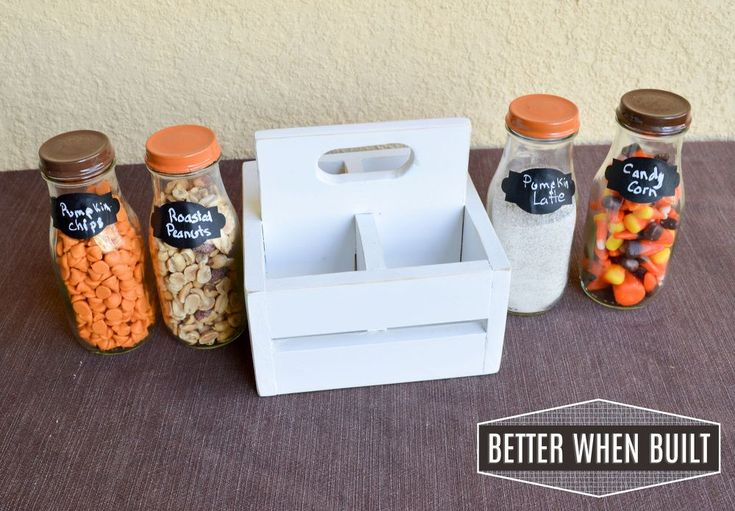 DIY Frappuccino Bottle Crate