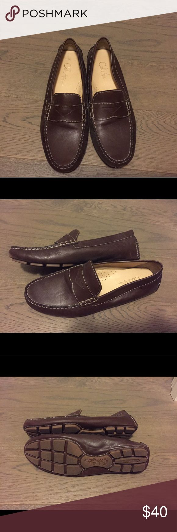 Cole Haan loafers Cole Haan loafer. Chocolate brown. Very comfortable and great for fall! Worn once. Cole Haan Shoes Flats & Loafers