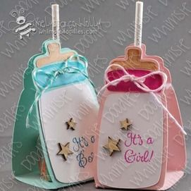 lollipop, sucker, 3D, treat, cover, package, baby, bottle,boy, girl, template