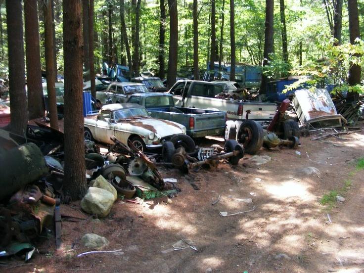 Best Car Graveyard Images On Pinterest Abandoned Cars