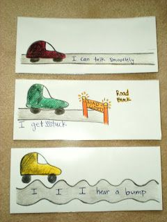 Great visual for stuttering therapy. Repinned by Falls Speech & Language Services. www.pinterest.com/FallsSpeech/