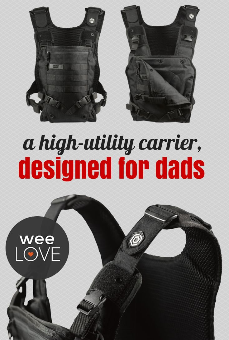 A high-utility carrier, designed for dads  | Want to get weeLove in your inbox? www.wee.co/weelove