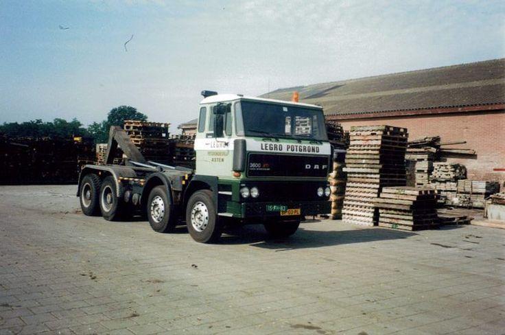 DAF 3600 ATI 8x4 Legro Asten Nederland