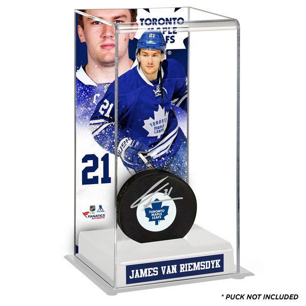 James Van Riemsdyk Toronto Maple Leafs Fanatics Authentic Deluxe Tall Hockey Puck Case - $49.99