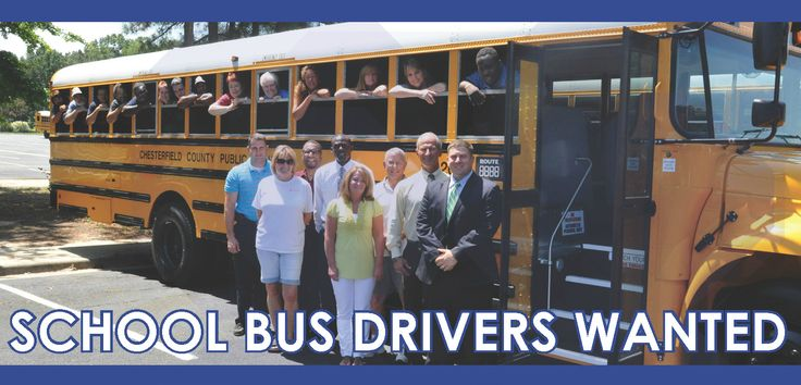 Chesterfield County Public Schools hosting three School Bus Driver Job Fairs - http://www.robiouscorridor.com/chesterfield-county-public-schools-hosting-three-school-bus-driver-job-fairs/