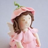 @Jenn-  How to make a flower fairy cake topper