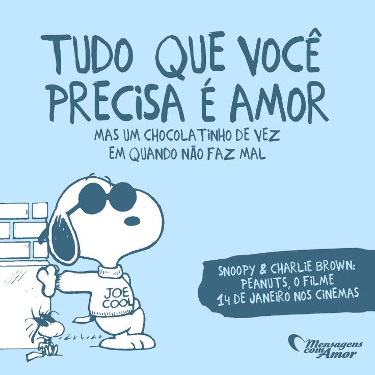 Bom Dia Meu Amor Artigos Pinterest Snoopy Frases E