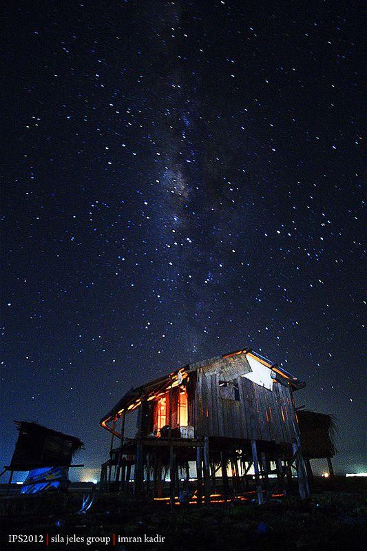 Milky Way, Maiga island, Borneo, Sabah, Malaysia
