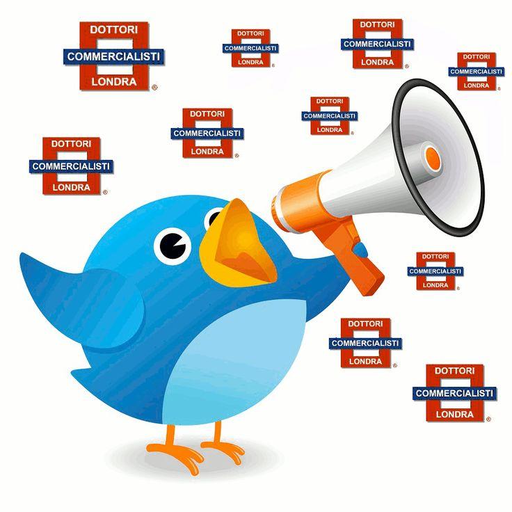 Dottori Commercialisti Londra & Twitter