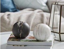 MARBLE MATT DECORATION BALL