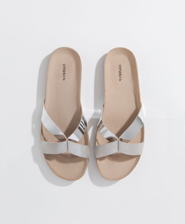Basic-Sandale mit umlaufendem Riemchen - OYSHO