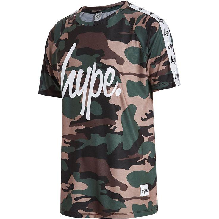 Hype Tape Camo T-shirt Junior