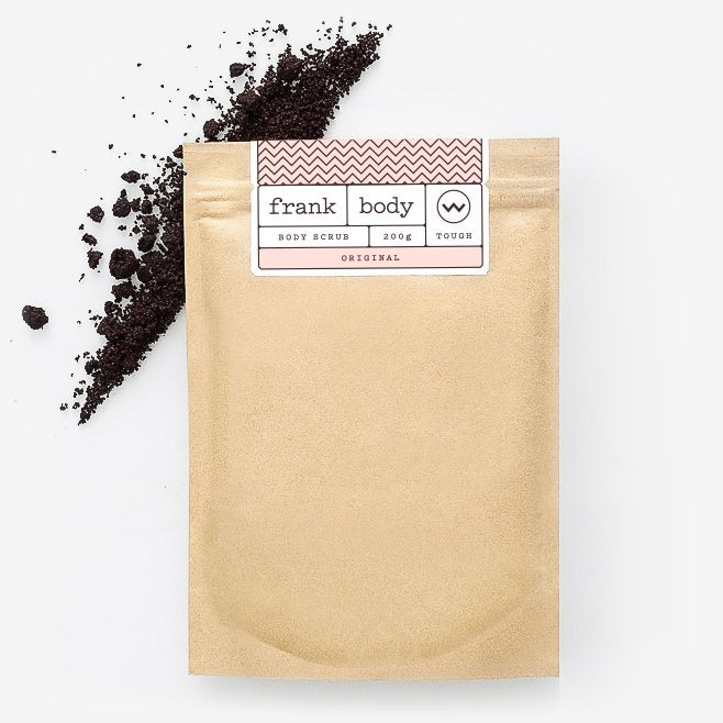 frank body original coffee scrub a natural body scrub