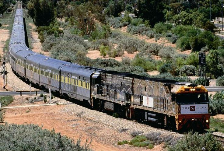 Australian Trains: Go by Rail on Transcontinental Journeys