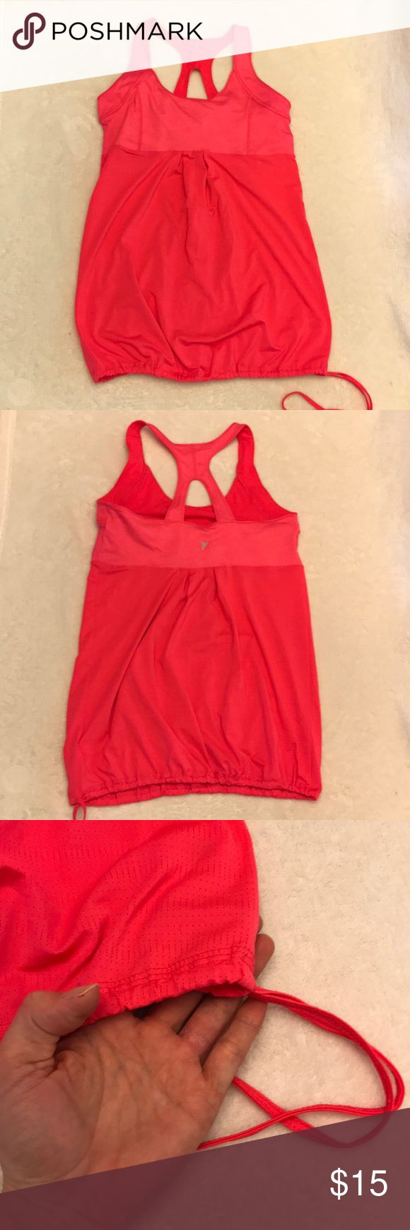 Old Navy Athletic Tank *Old Navy Activ Tank  *Stretchy Spandex Material-Loose Fit *Has tie at bottom to cinch at waist *Great condition *No stains, tears or snags  (Smoke & pet free home) Old Navy Tops Tank Tops