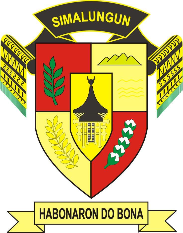 Logo Kabupaten Simalungun Indonesia, Industrial, Danau toba