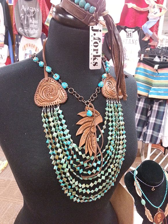 Cowgirl Behind the Scenes - J. Forks Designs Jewelry at the Dallas Market - Cowgirl Magazine