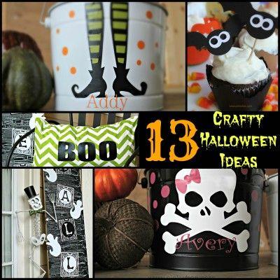 13 Crafty Halloween Ideas Anyone can Make!