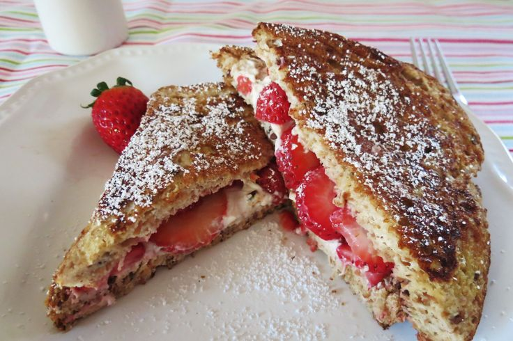 stuffed french toast valentine's day