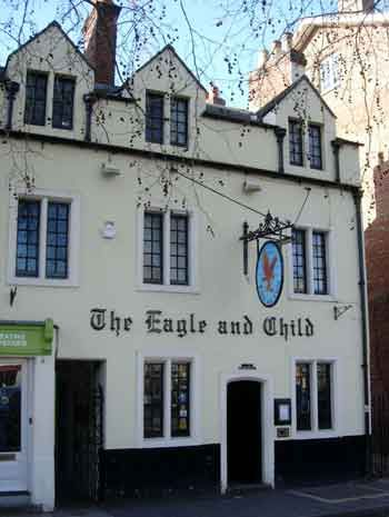 Eagle and child pub where c s lewis and the inklings met