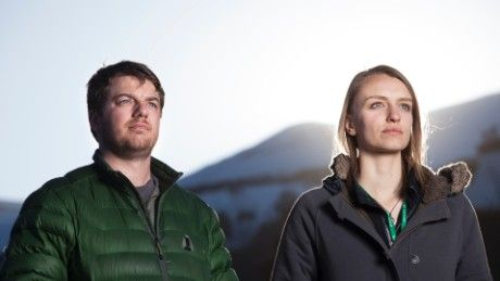 Brian Rogers and Caitlin McGuire, owners of the Breckenridge Cannabis Club, as seen on CNN's High Profits