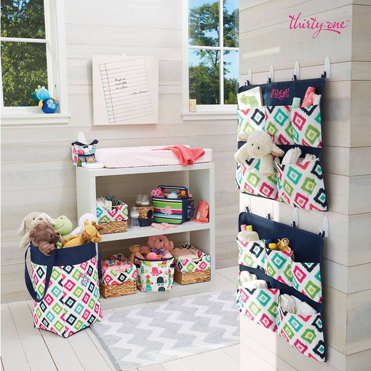 Organize and decorate your nursery, playroom or office!