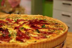 Pastırmalı Kabaklı Kiş | Mutfakta Yemek Tarifleri