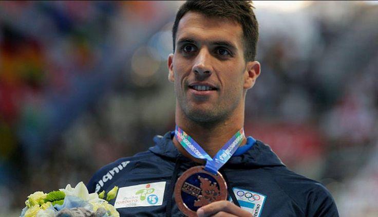 Federico Grabich, con su bronce en los 100 metros libre, se ha convertido en el primer nadador argentino que consigue una medalla en un Mundial de piscina larga.