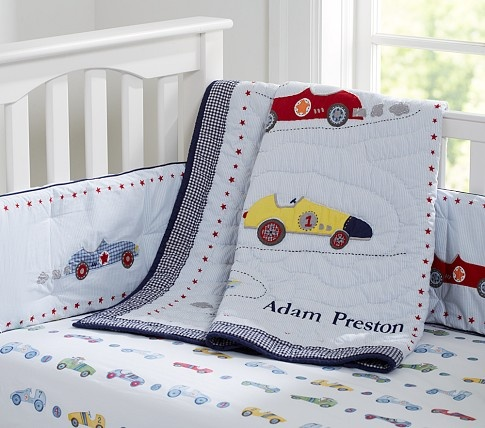 Roadster Nursery Bedding Pottery Barn Kids With Images