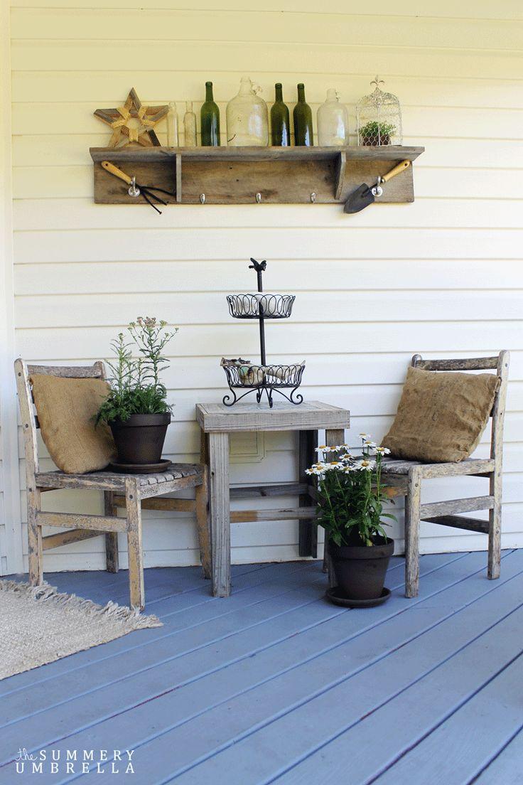 Summer Front Porch - The Summery Umbrella