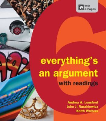 Everything's an Argument with Readings PDF