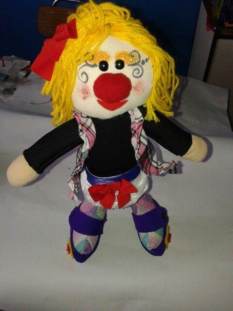 La muñeca de Lentejita!  ♥♥♥