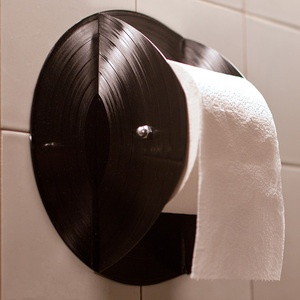 Hauptrolle Toilet Roll Holdernow featured on Fab... I smell a new project and it tastes like vinyl!
