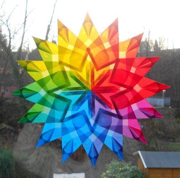 Fensterstern+Nr.5++24cm+*aus+dickem+Papier*+++von+Candlestar+auf+DaWanda.com