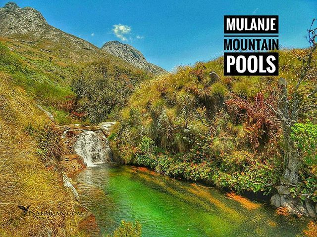 There is a 'lost world' a great island in the sky.  High on the plateau beneath & between many rocky peaks are numerous streams waterfalls & pools.  This pool is well known near a mountain hut. Many more require exploration away from the hiking routes.  #MulanjeMountain .. #Malawi #MountainPools #Hiking #Swimming #fbp #tw #fb #MountMulanje #MalawiPlaces