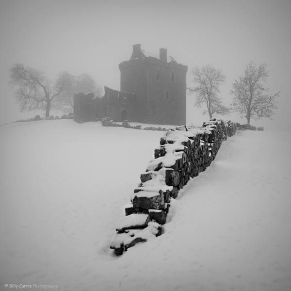 Winter ruins.  Photography by Billy Currie