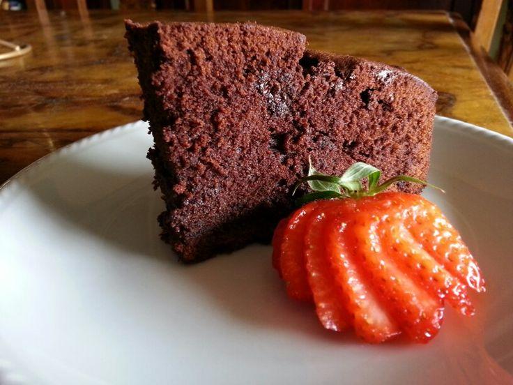 Torta al cioccolato #madebyme #homemade #madewithlove