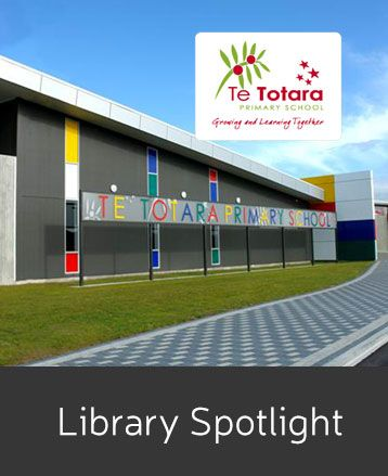 ePlatform by Wheelers Books has decided to shine a spotlight on a few of our deserving school library & library customers.  Meet Te Totara Primary School in Hamilton, New Zealand.