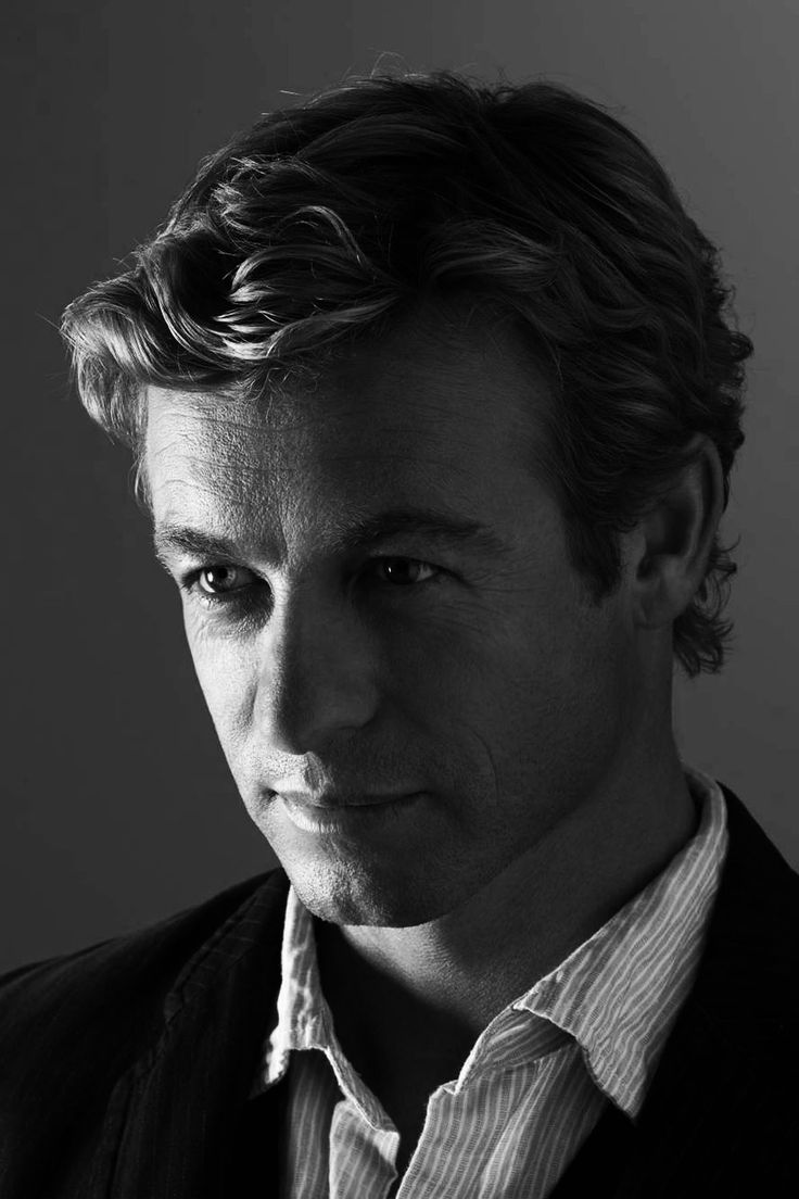 """""""Simon Baker""""  If I ever get my hair cut it will look like this."""