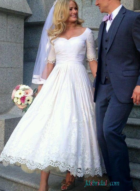18 best Vintage wedding dresses inspirasi images on Pinterest | Tea ...