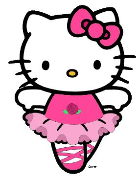 HK |❣| HELLO KITTY Ballerina