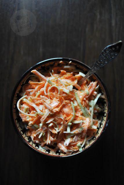 Kardamonovy: Surówka z marchewki i pora