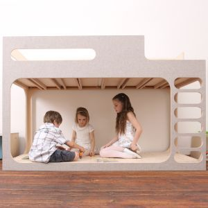 PERLUDI - AMBER in the SKY, design bunk bed for kids