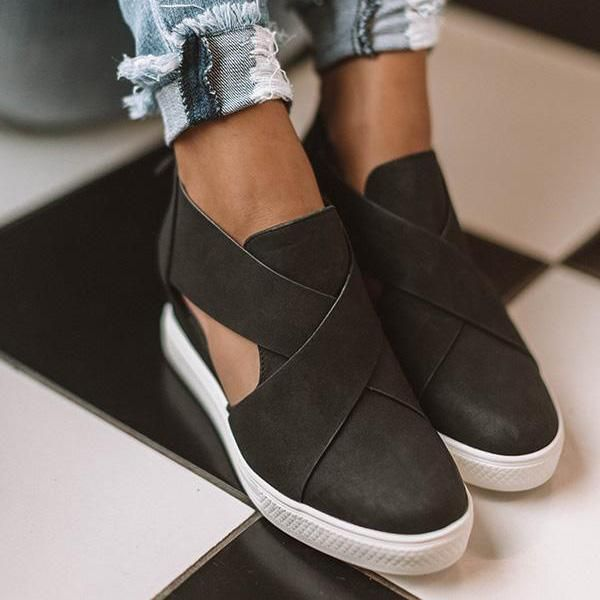 e1862128d43 Women Fashion Stylish Wedge Sneakers in 2019 | My Style | Leather ...