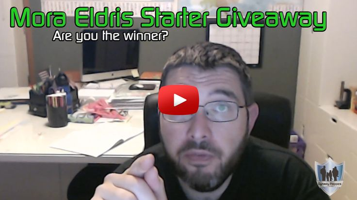 Mora Eldris Starter Kit Giveaway Winner - https://dynastypreppers.com/mora-eldris-starter-kit-giveaway-winner/