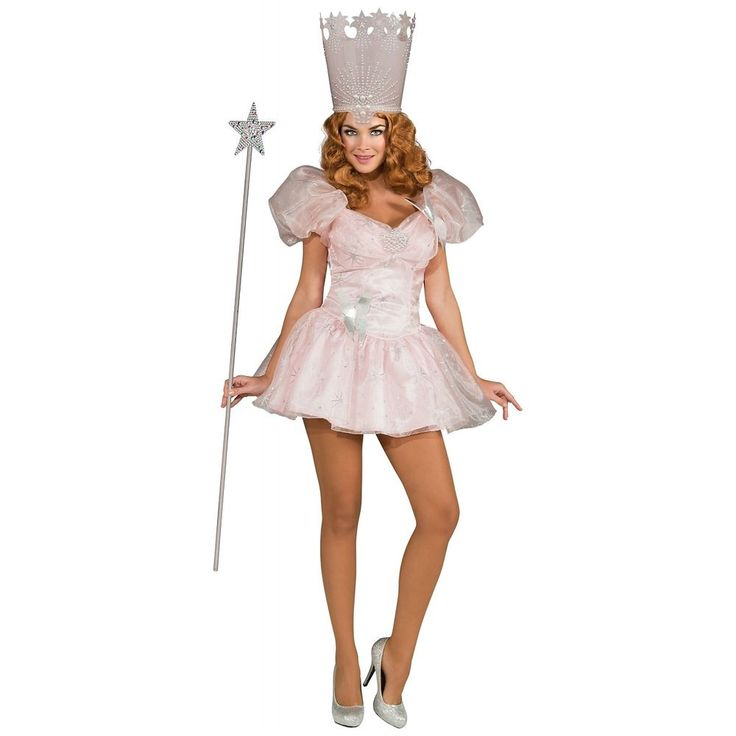 Glinda the Good Witch Costume Adult Wizard of Oz Halloween Fancy Dress | Clothing, Shoes & Accessories, Costumes, Reenactment, Theater, Costumes | eBay!