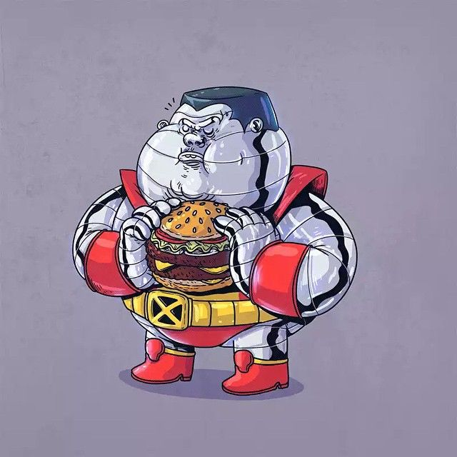 """""""Chunky Colossus"""" - X-Men 